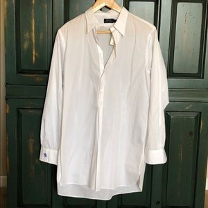 NWT Polo RL Cotton Broadcloth Tunic size 12